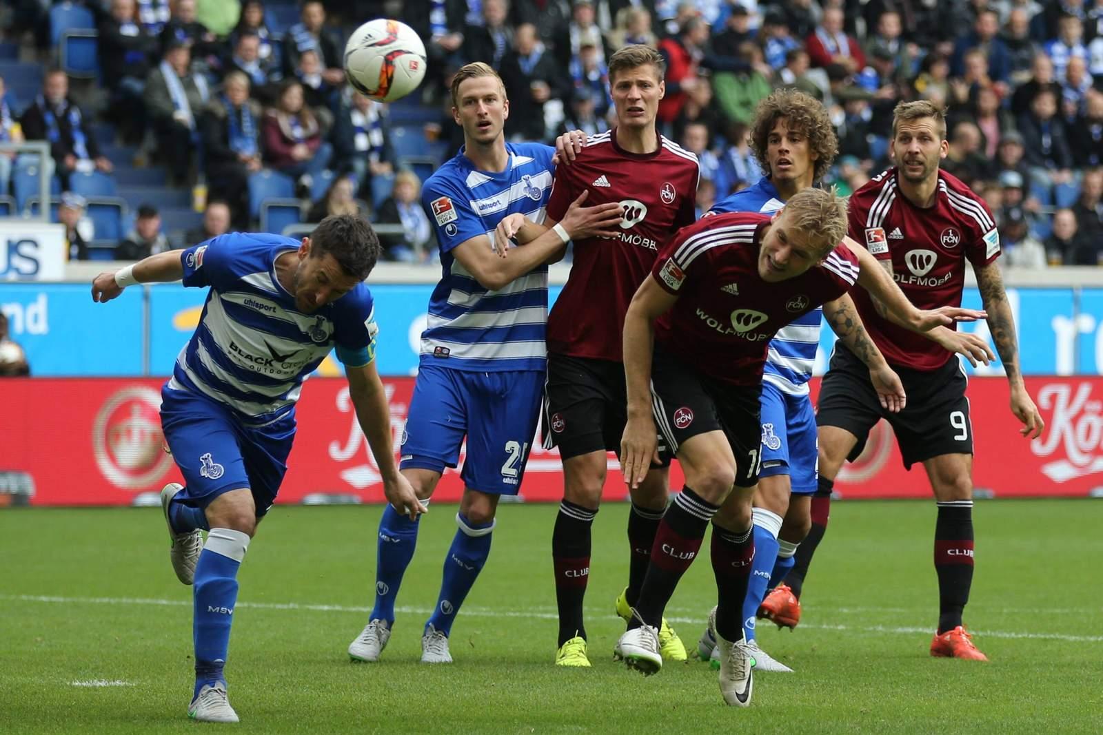 Trifft Hanno Behrens per Kopf? Unser Tipp: 1. FC Nürnberg gewinnt gegen MSV Duisburg