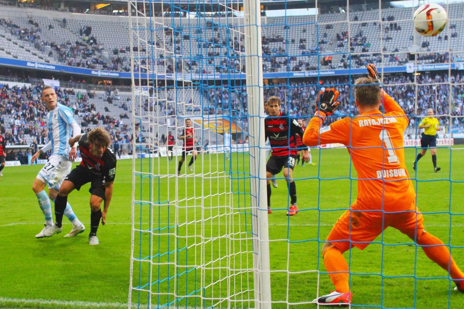 Trifft Wolf wieder gegen Ratajczak? Unser Tipp: Duisburg gewinnt gegen 1860 München