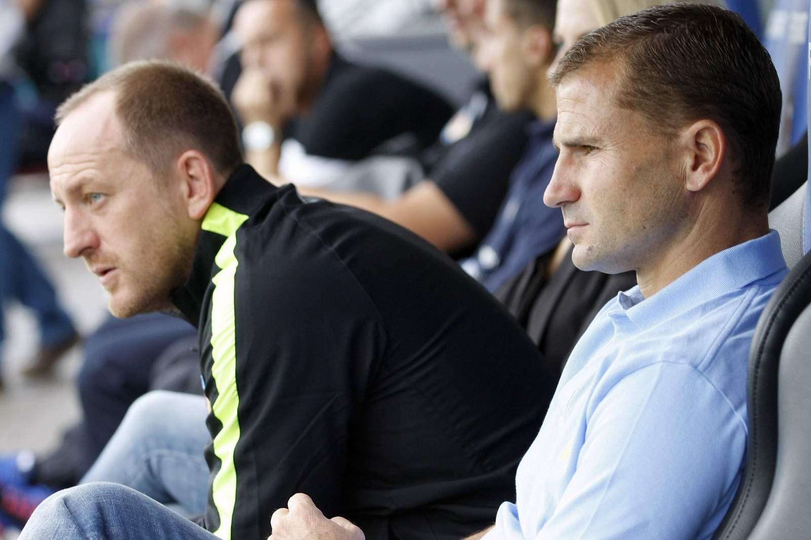 Torsten Lieberknecht und Marc Arnold