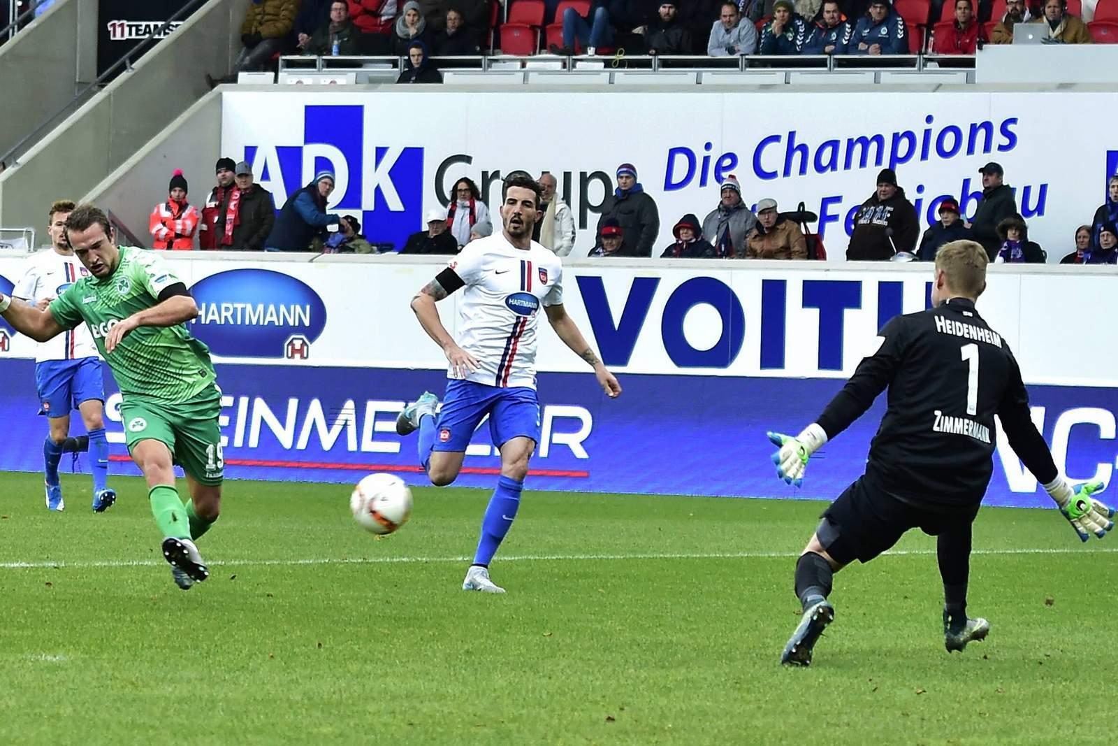 Trifft Berisha wieder gegen Zimmermann? Unser Tipp: Fürth gewinnt gegen Heidenheim