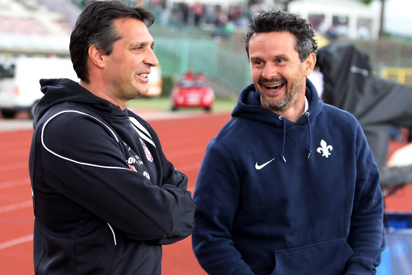 Trainer Dirk Schuster