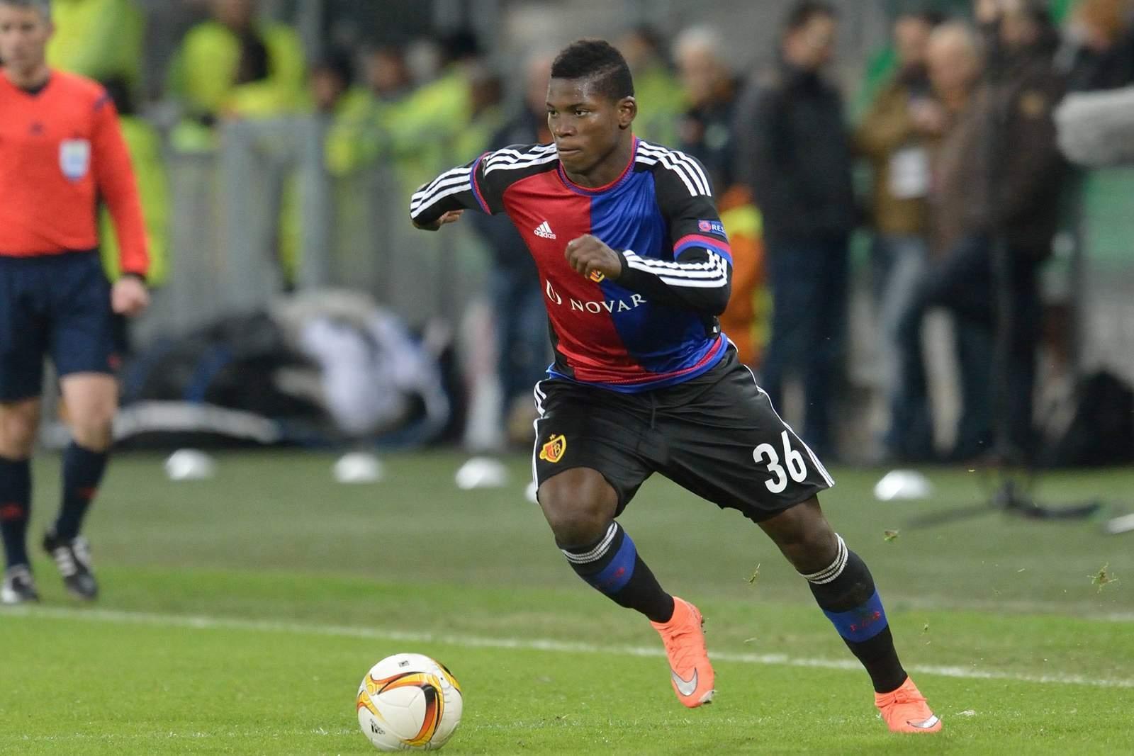 Breel Embolo vom FC Basel
