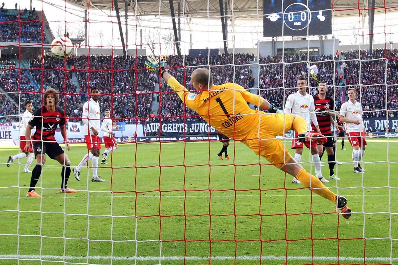 Kassiert Coltorti wieder ein Gegentor? Unser Tipp: MSV Duisburg gewinnt gegen RB Leipzig