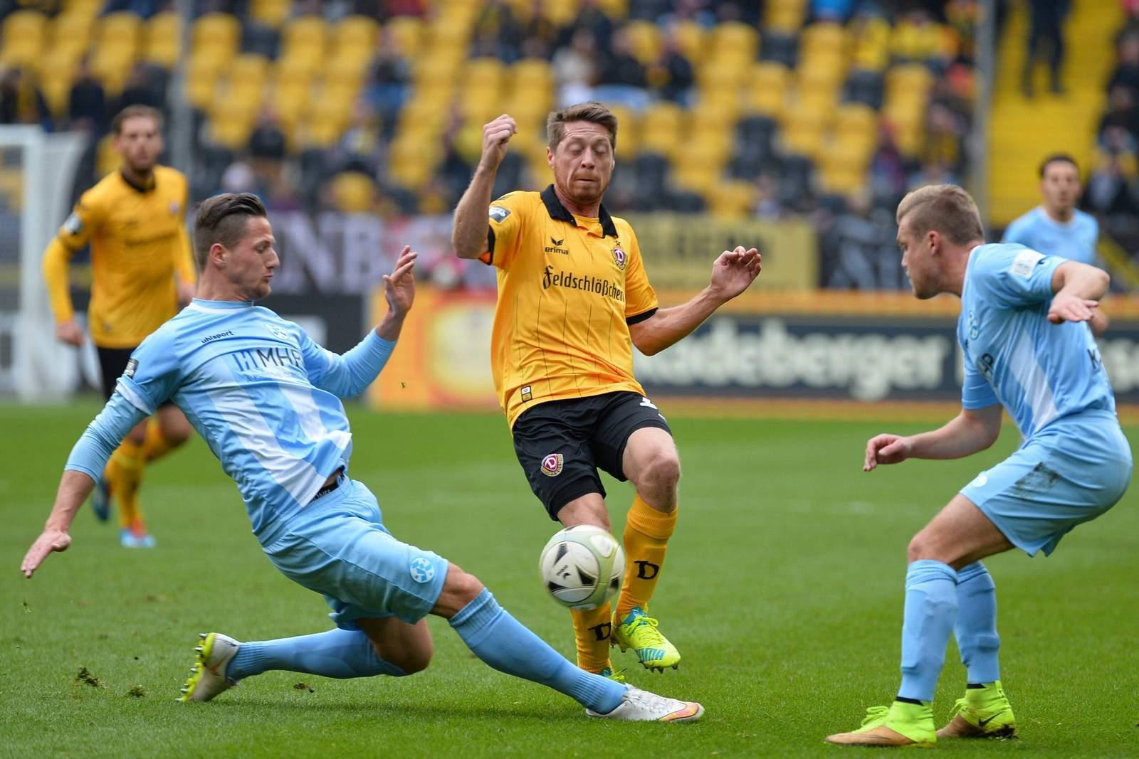 Setzt sich Lambertz wieder durch? Jetzt auf Dynamo Dresden gegen Red Bull Leipzig wetten