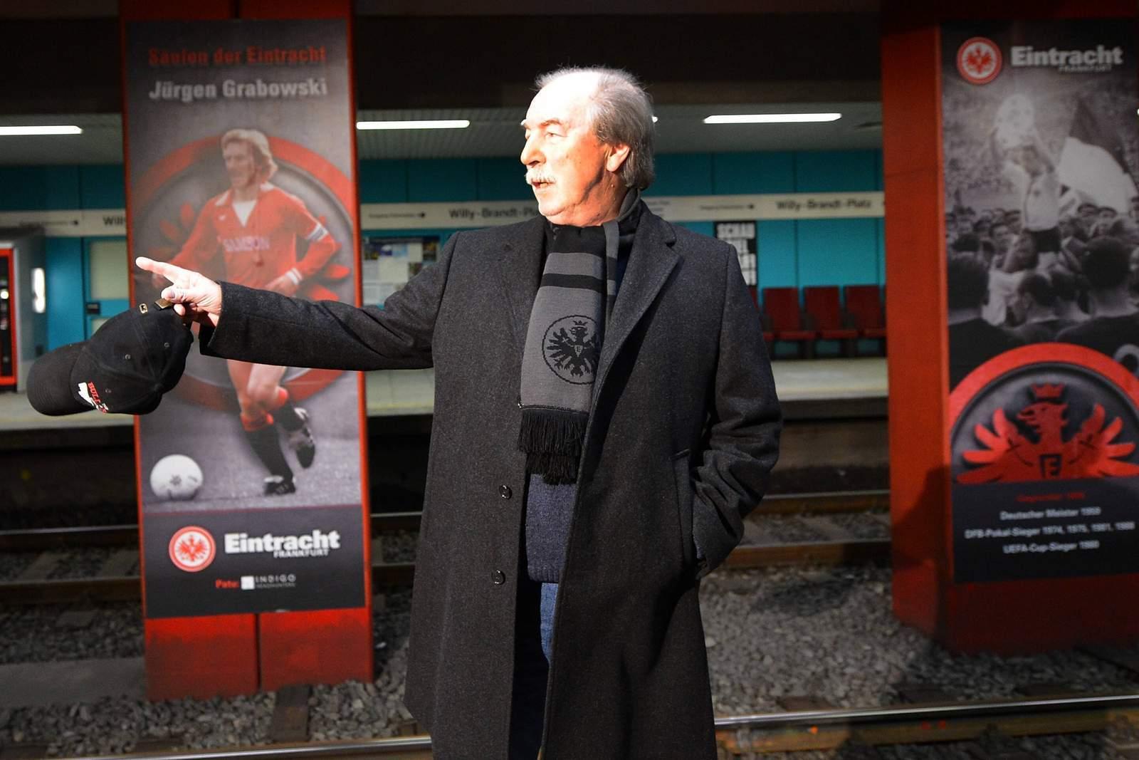 Jürgen Grabowski von Eintracht Frankfurt