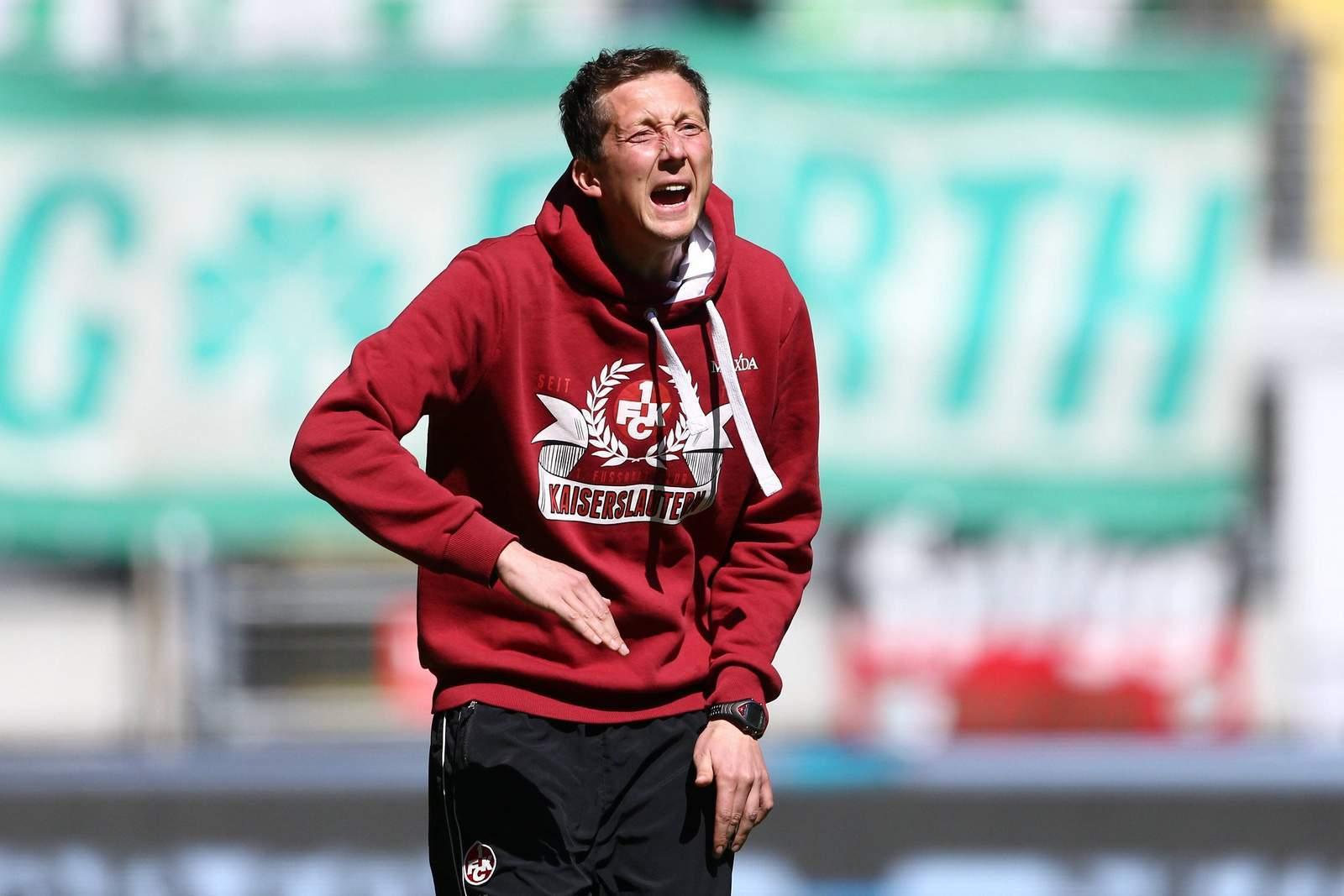 Konrad Fünfstück Trainer von Kaiserslautern