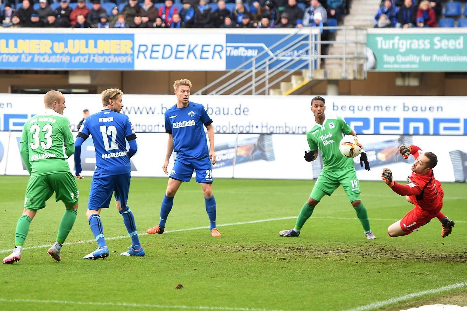 Kassiert Kruse wieder ein Tor? Unser Tipp: 1860 gewinnt gegen Paderborn