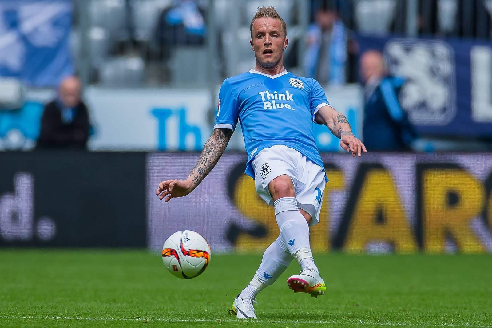 Daniel Adlung ist für 1860 München am Ball.