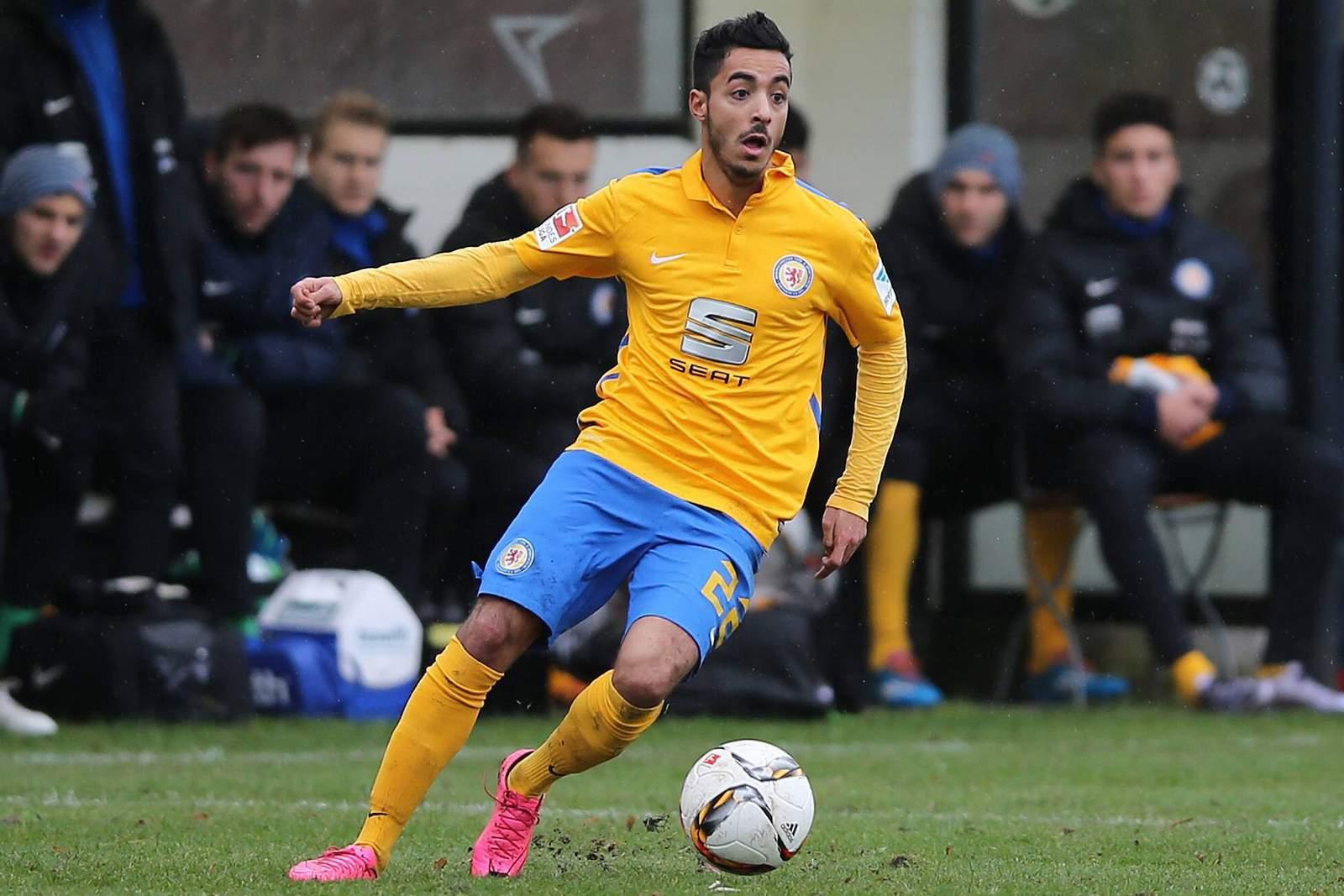 Jubelt Khelifi wieder? Jetzt auf Würzburger Kickers gegen Eintracht Braunschweig wetten