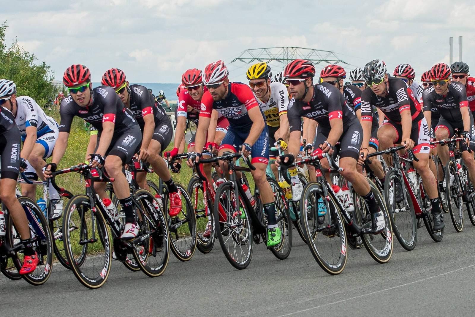 Tour de France Hauptfeld Fahrer