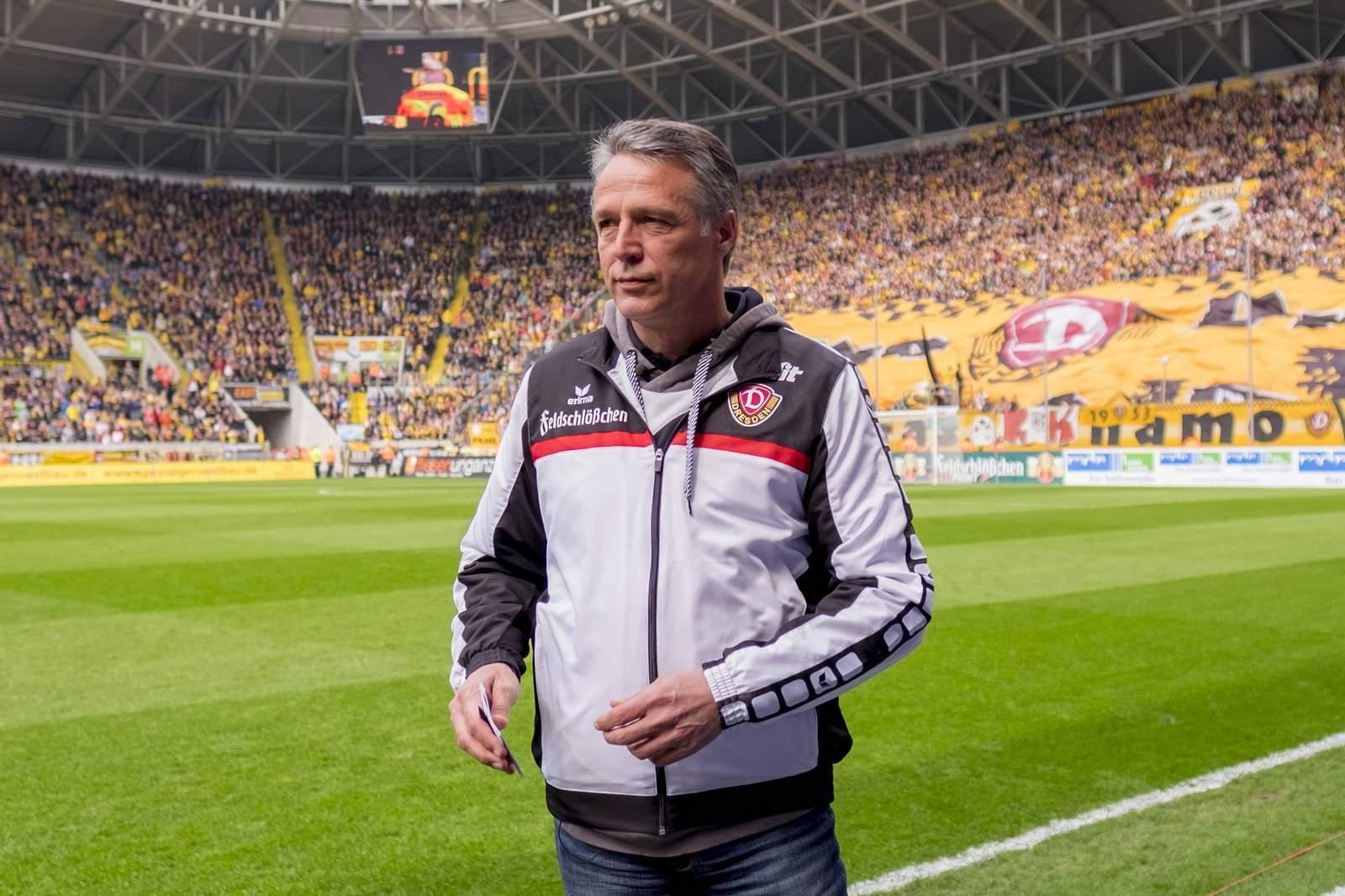 Uwe Neuhaus von Dynamo Dresden