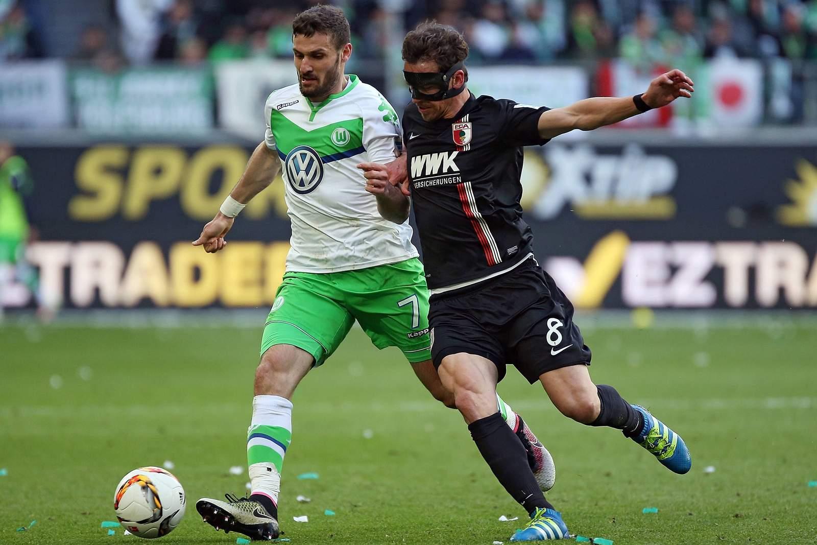 Setzt sich Caliguiri gegen Feulner durch? Jetzt auf Augsburg gegen Wolfsburg wetten