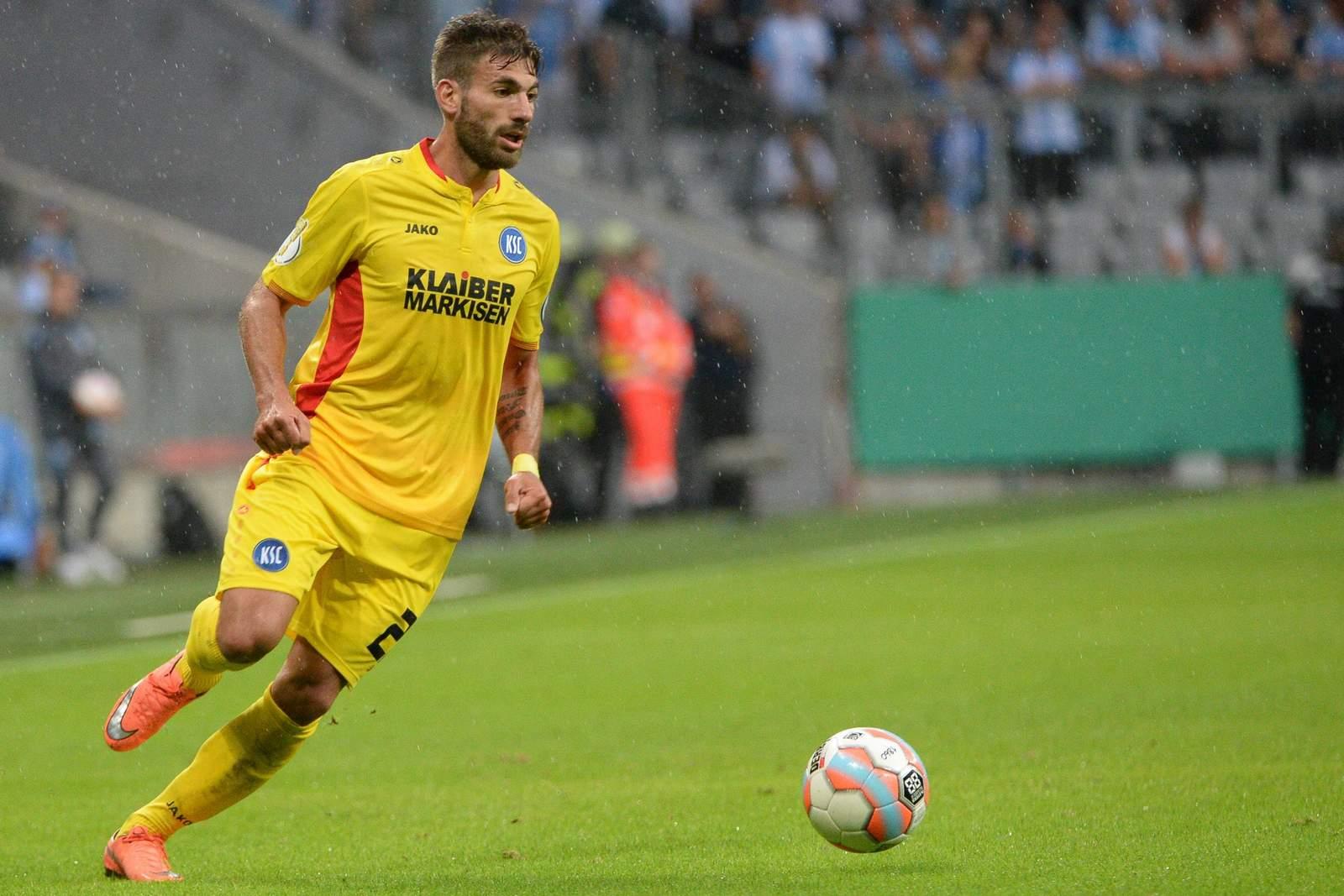 Enrico Valentini vom Karlsruher SC