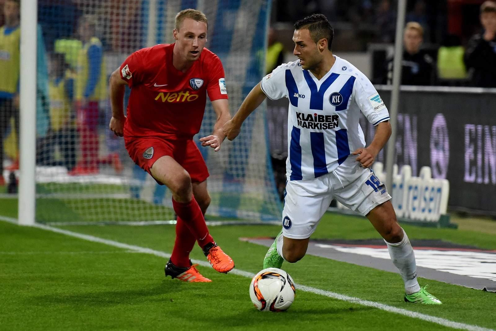Setzt sich Bastians gegen Torres durch? Jetzt auf Bochum gegen KSC wetten