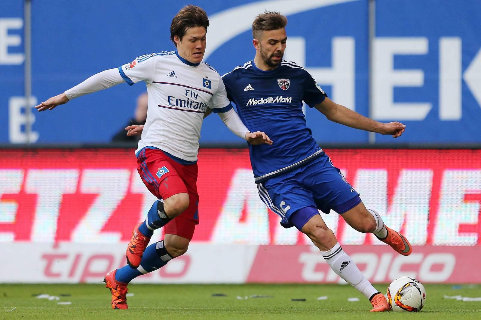 Setzt sich Sakai gegen Hinterseer durch? Jetzt auf HSV gegen FC Ingolstadt wetten