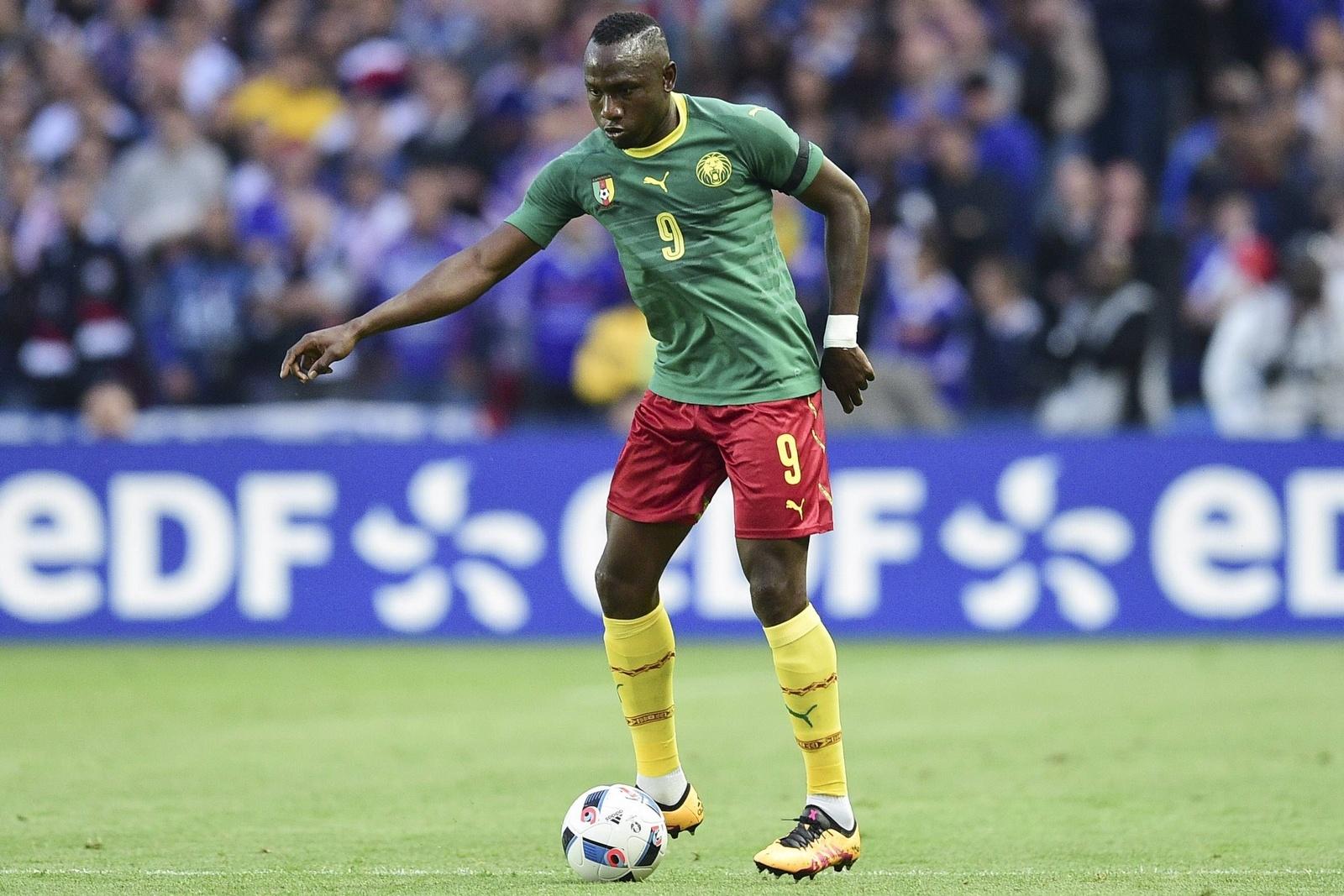 Jacques Zoua spielt für die Nationalmannschaft Kameruns.