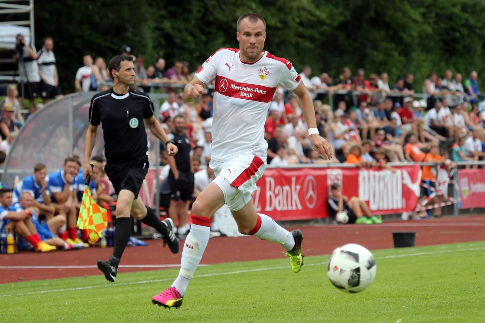 Kevin Großkreutz vom VfB Stuttgart
