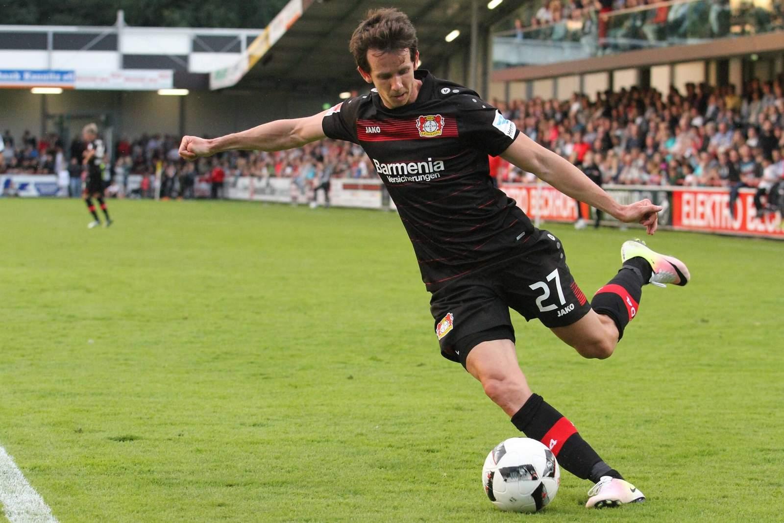 Robbie Kruse von Bayer Leverkusen