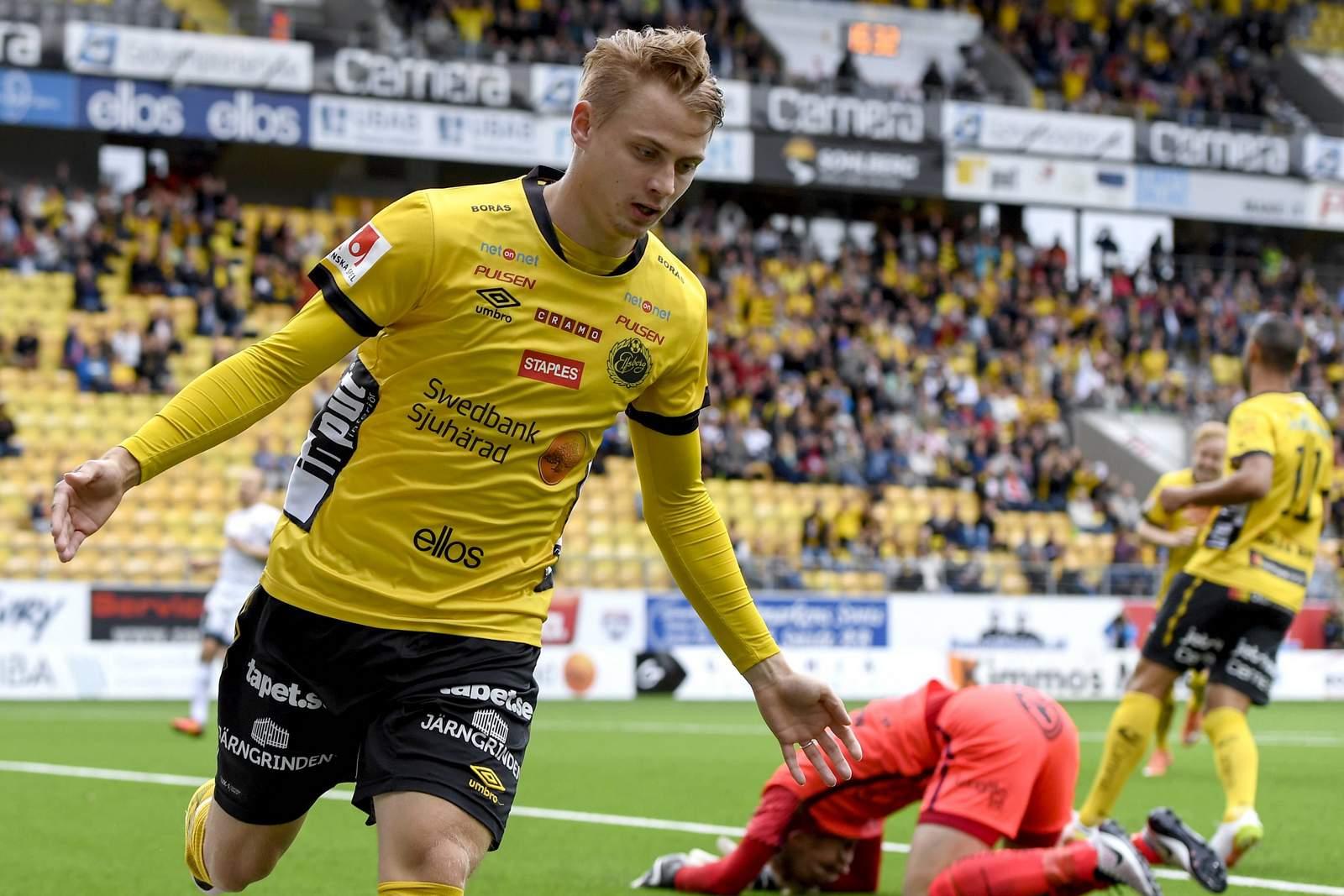 Simon Hedlund, hier noch im Trikot von Elfsborg.