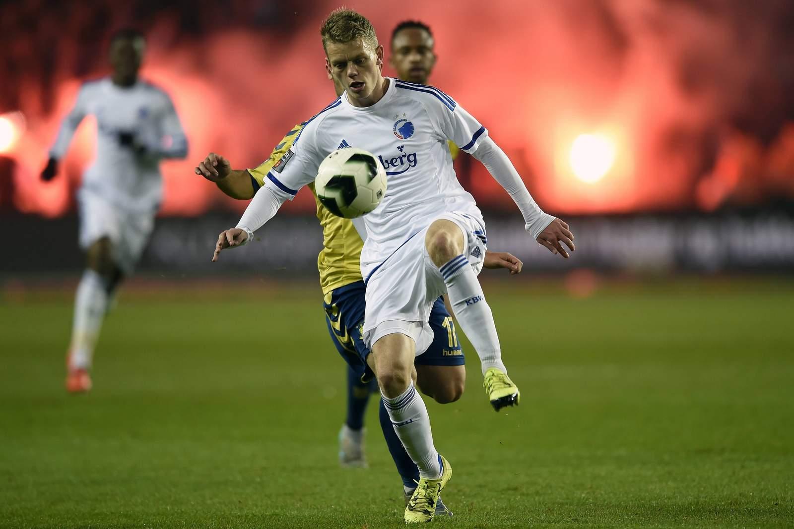 Kasper Kusk am Ball. Jetzt auf Porto gegen Kopenhagen wetten!