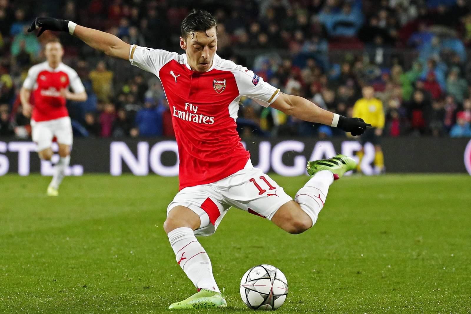 Trifft Özil wieder? Jetzt auf Arsenal gegen Valencia wetten