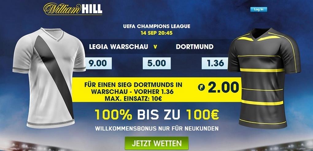 bvb vs warschau