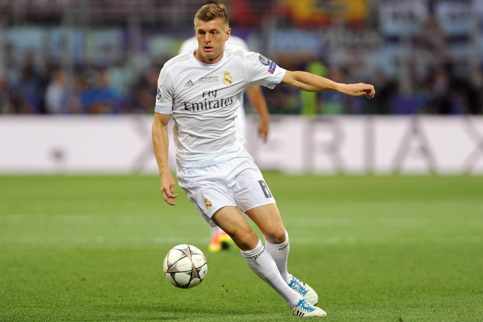 Toni Kroos in der Champions League. Jetzt auf Sporting gegen Real Madrid wetten!