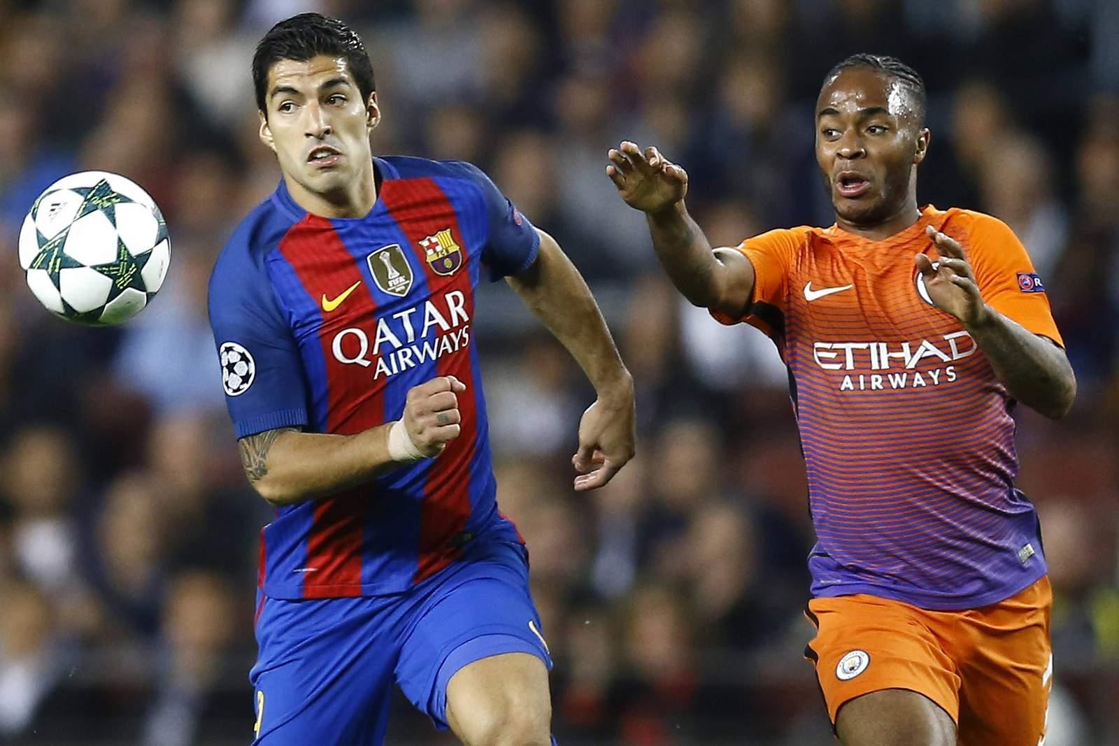 Setzt sich Suarez wieder gegen Sterling durch? Jetzt auf Man City gegen Barcelona wetten