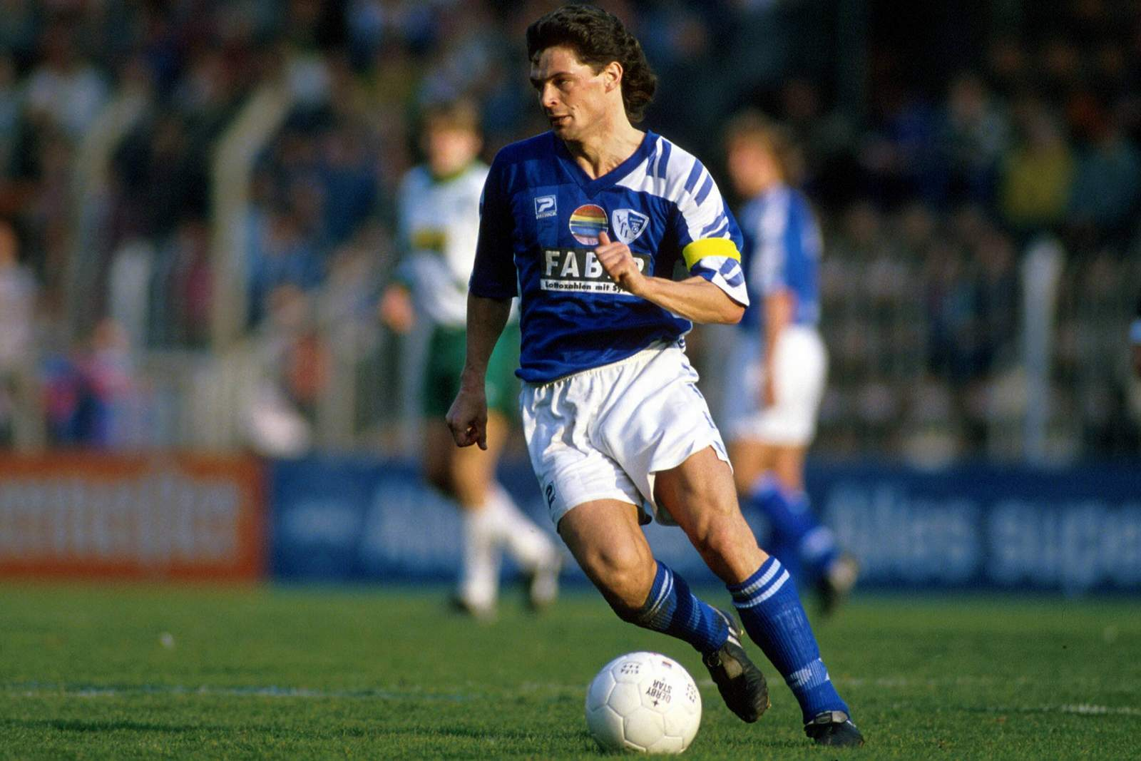 Uwe Wegmann im Trikot des VfL Bochum.