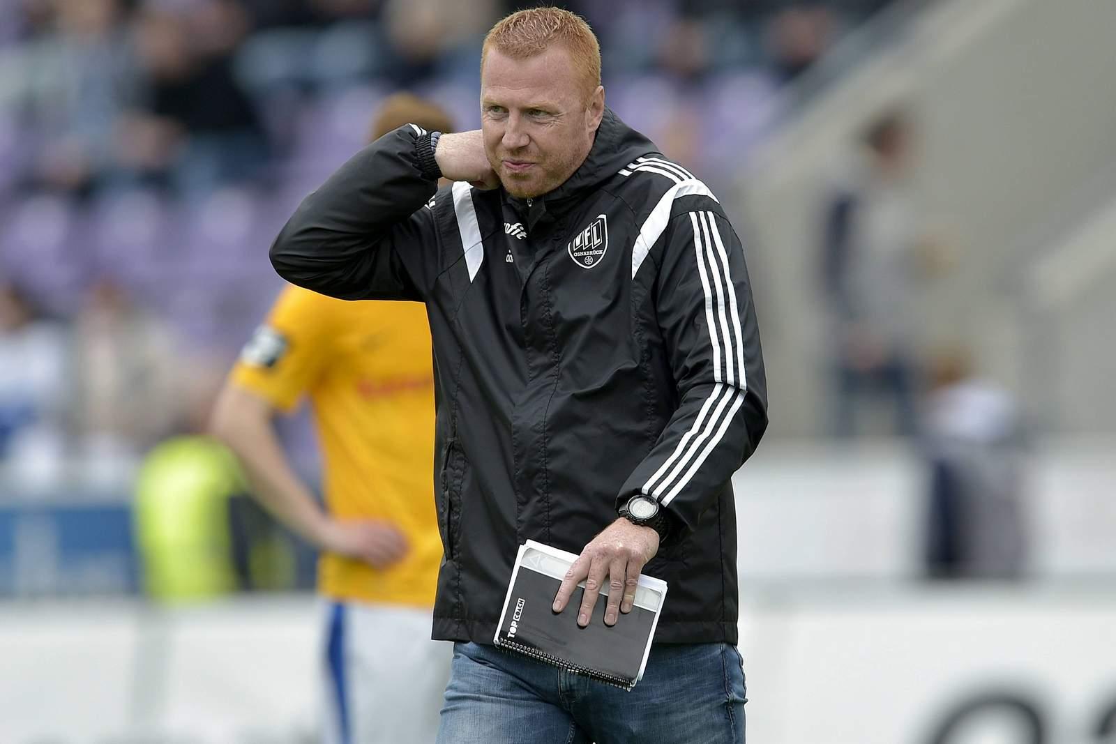 Maik Walpurgis Trainer vom VfL Osnabrück