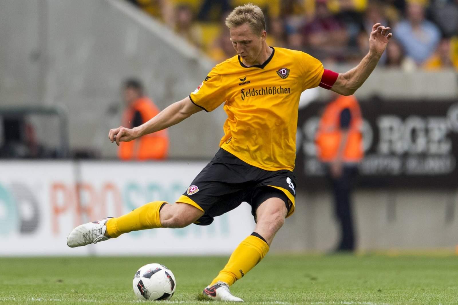 Marco Hartmann, Spieler von Dynamo Dresden