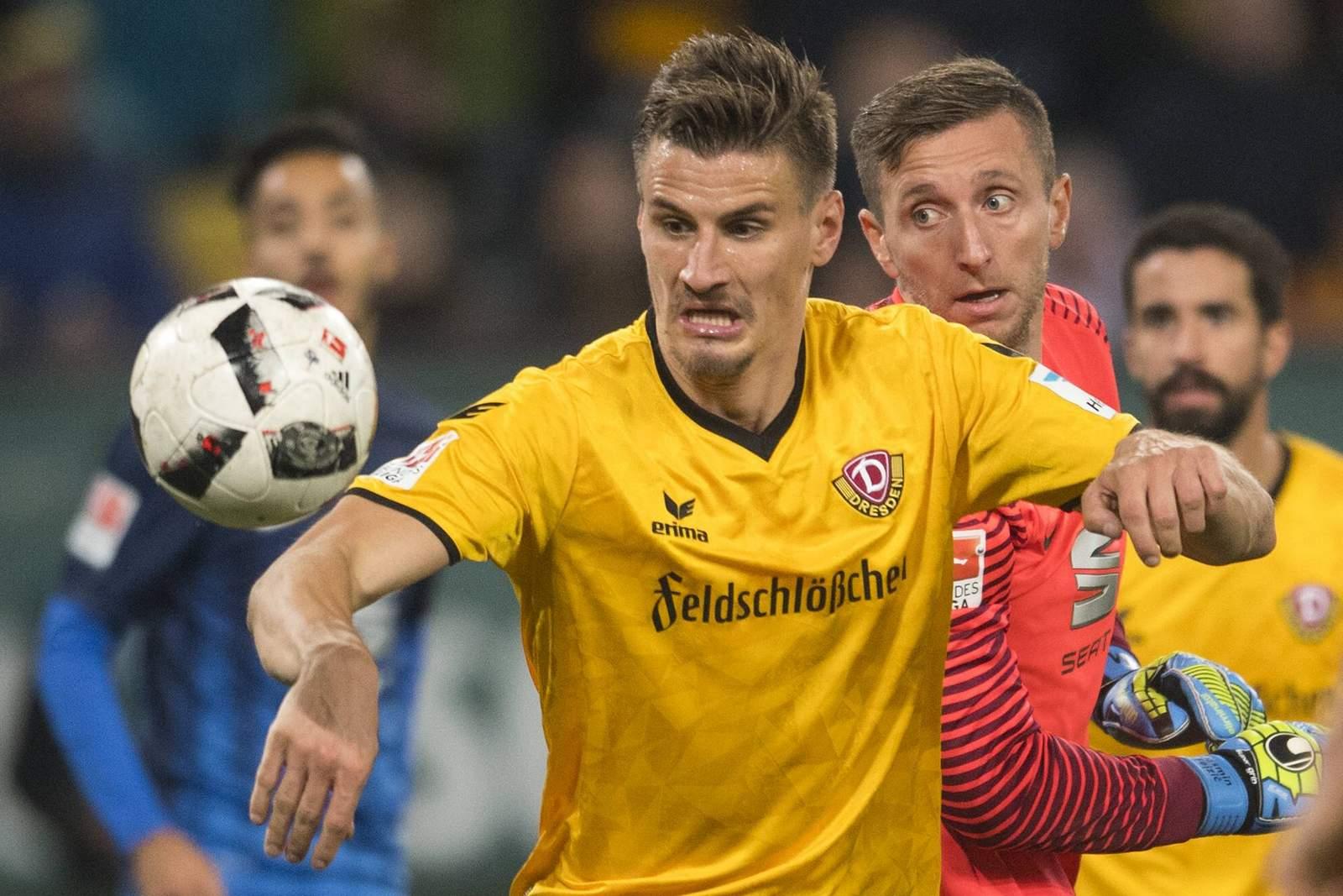 Stefan Kutschke von Dynamo Dresden