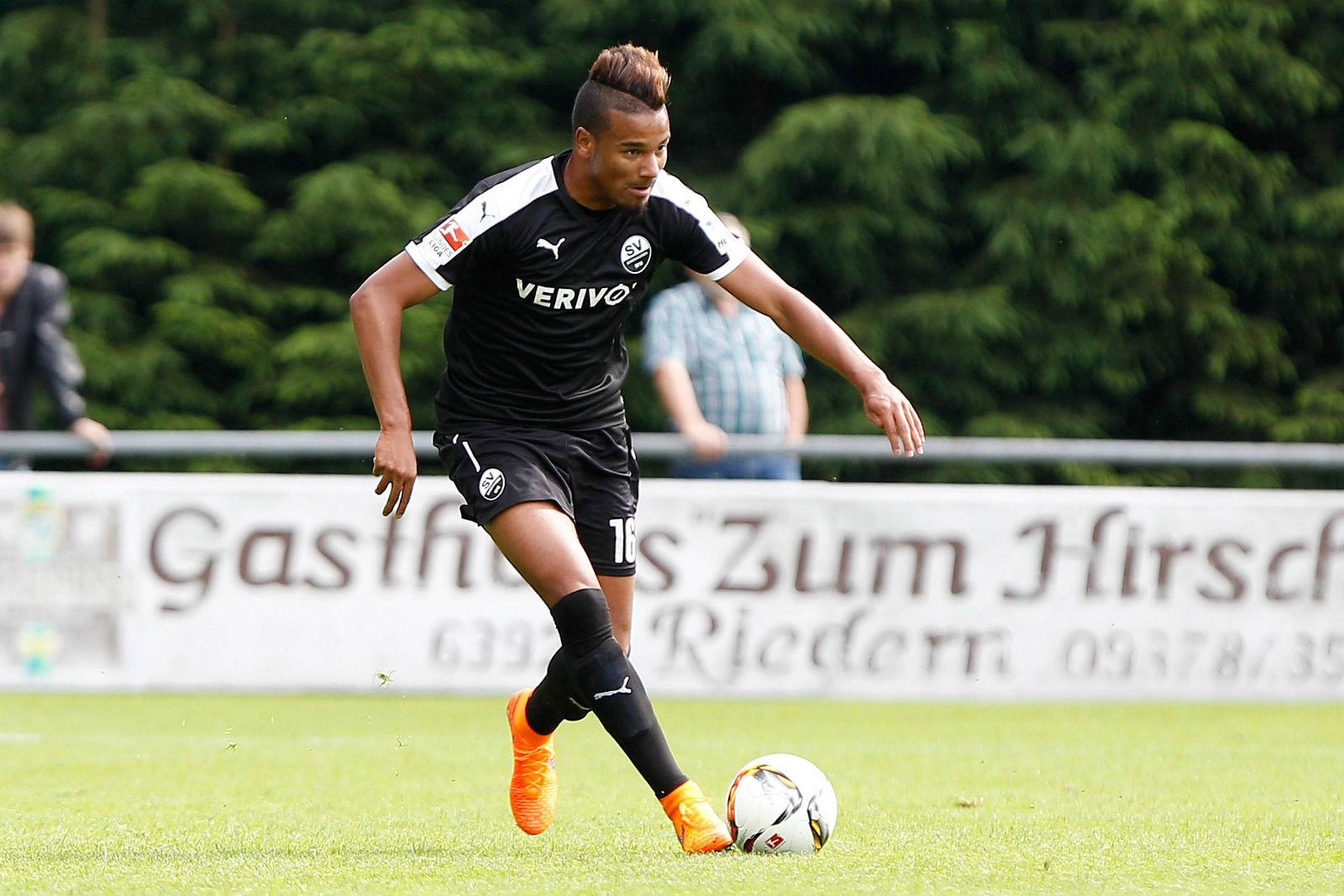 Erik Zenga, Mittelfeldspieler des SV Sandhausen.