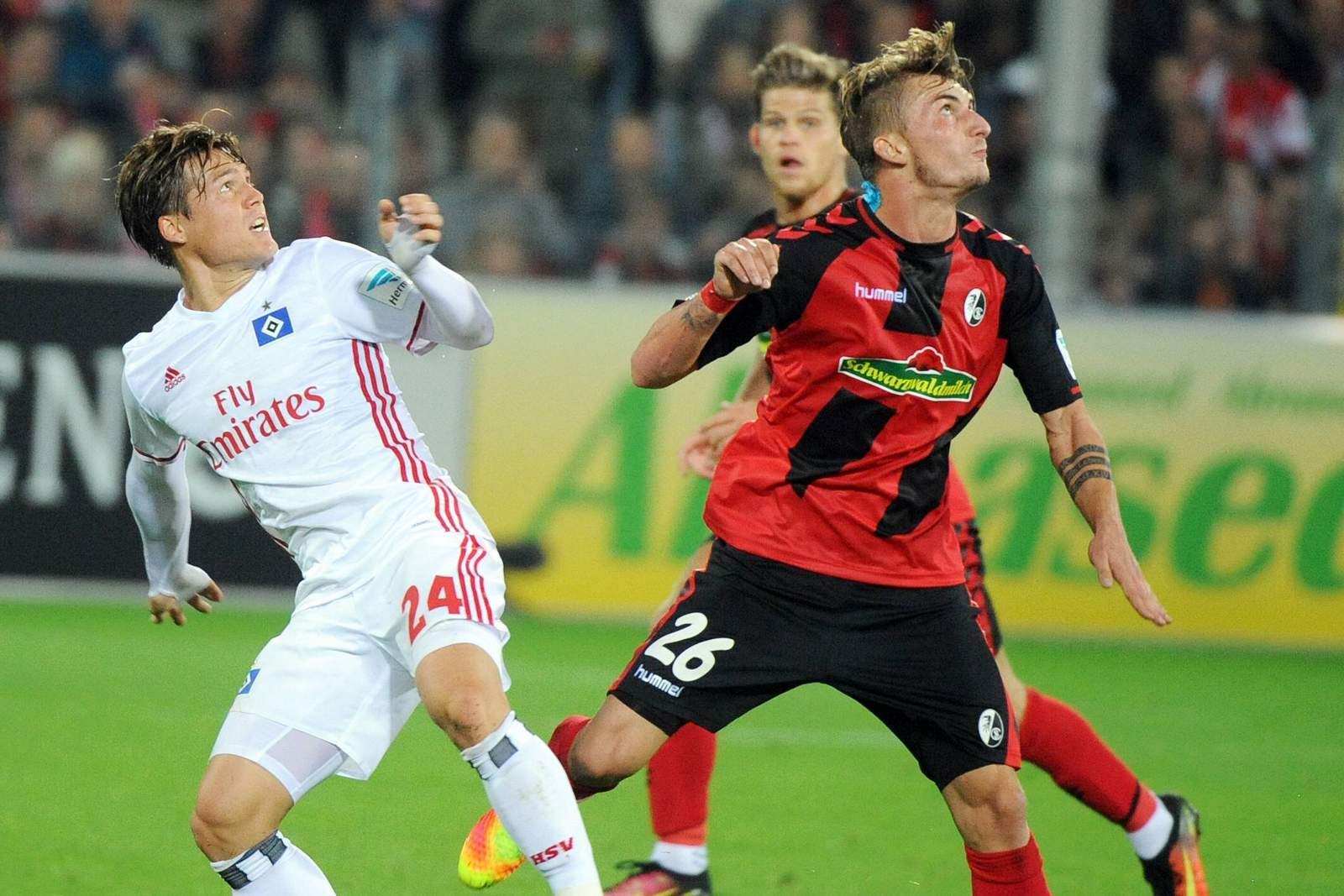 Setzt sich Sakai gegen Philipp durch? Jetzt auf HSV gegen Freiburg wetten