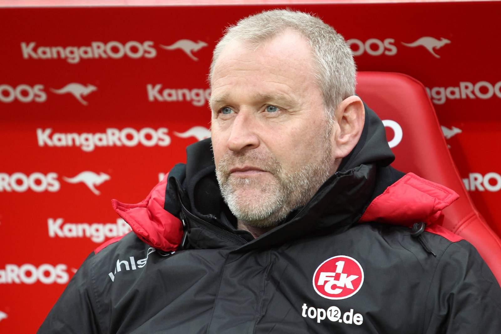 Sportchef Uwe Stöver vom 1. FC Kaiserslautern