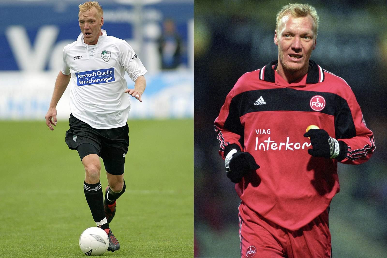 Marcus Feinbier als Spieler von Fürth und Nürnberg