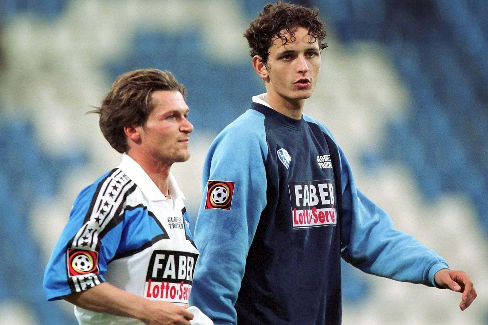 Dariusz Wosz und Dino Toppmöller vom VfL Bochum
