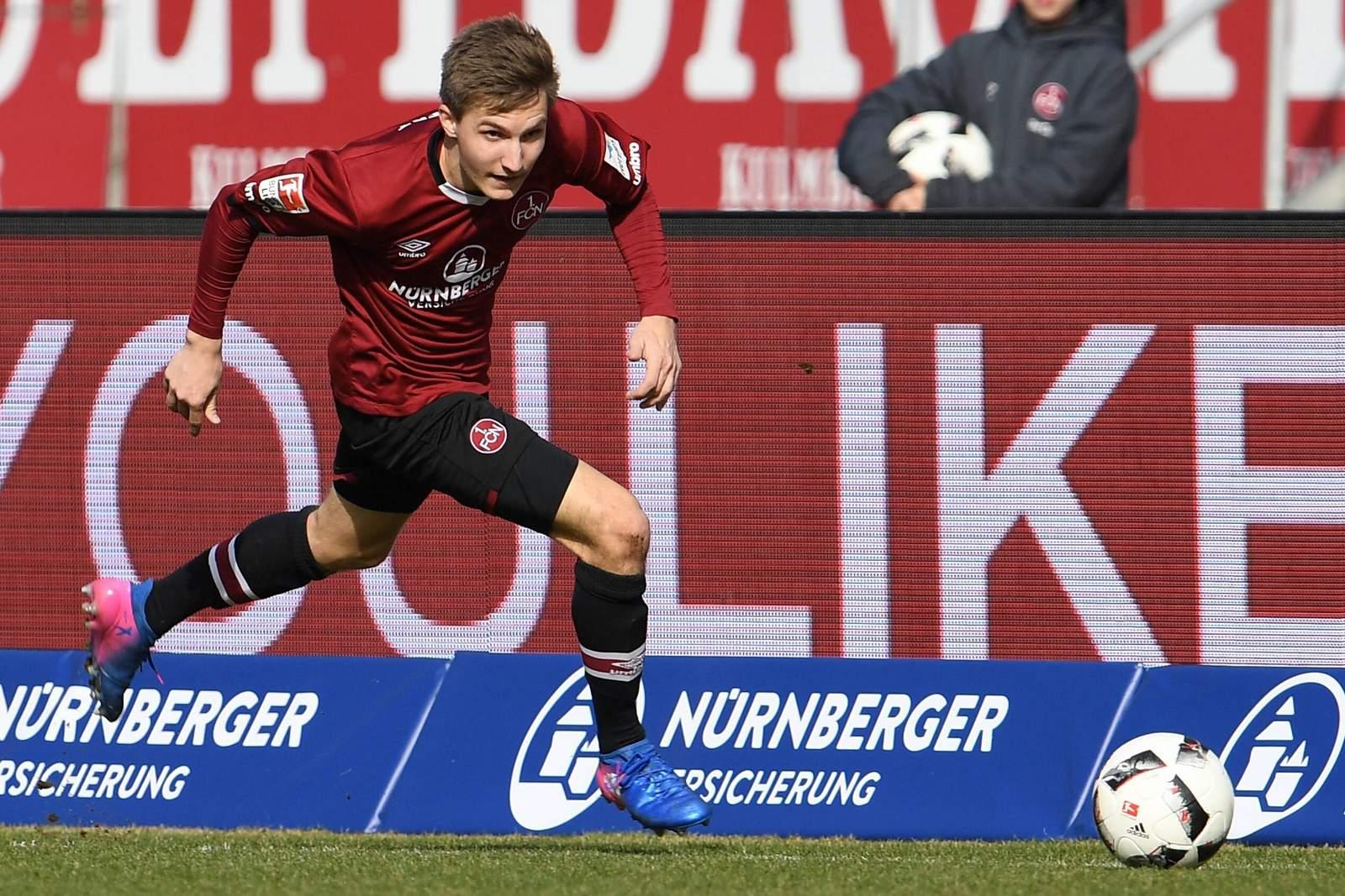 Dennis Lippert vom 1.FC Nürnberg