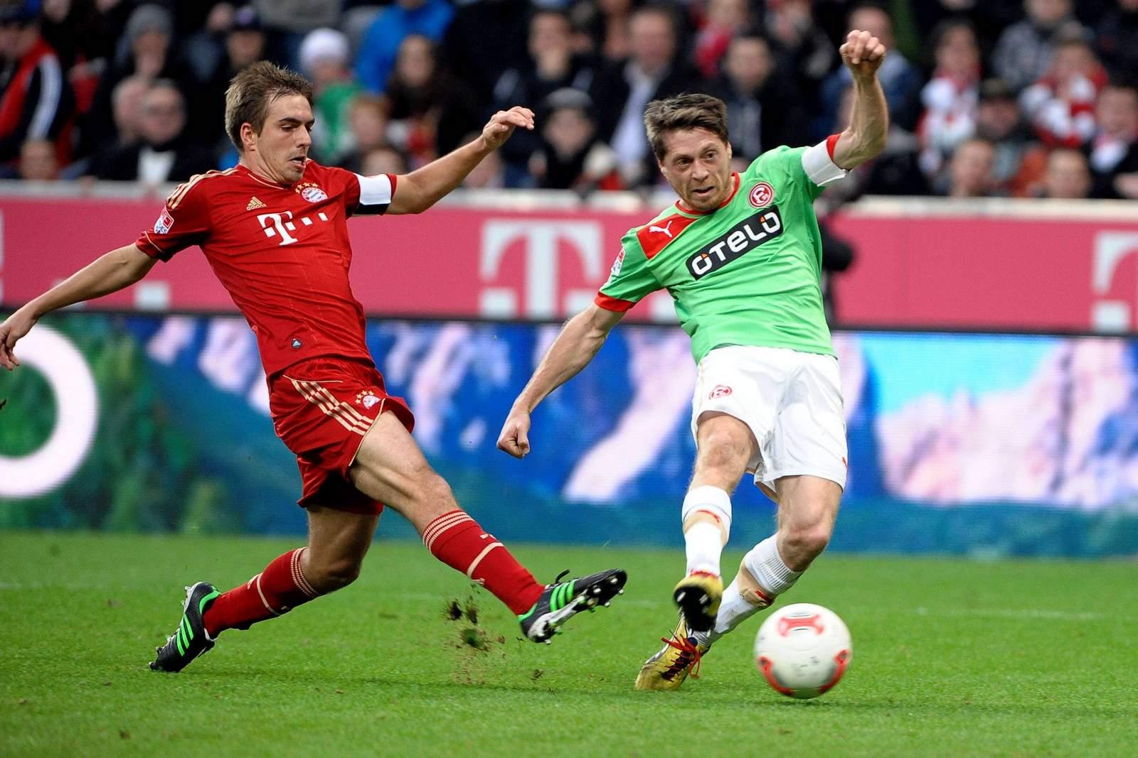 Andreas Lambertz erzielt Tor gegen den FC Bayern