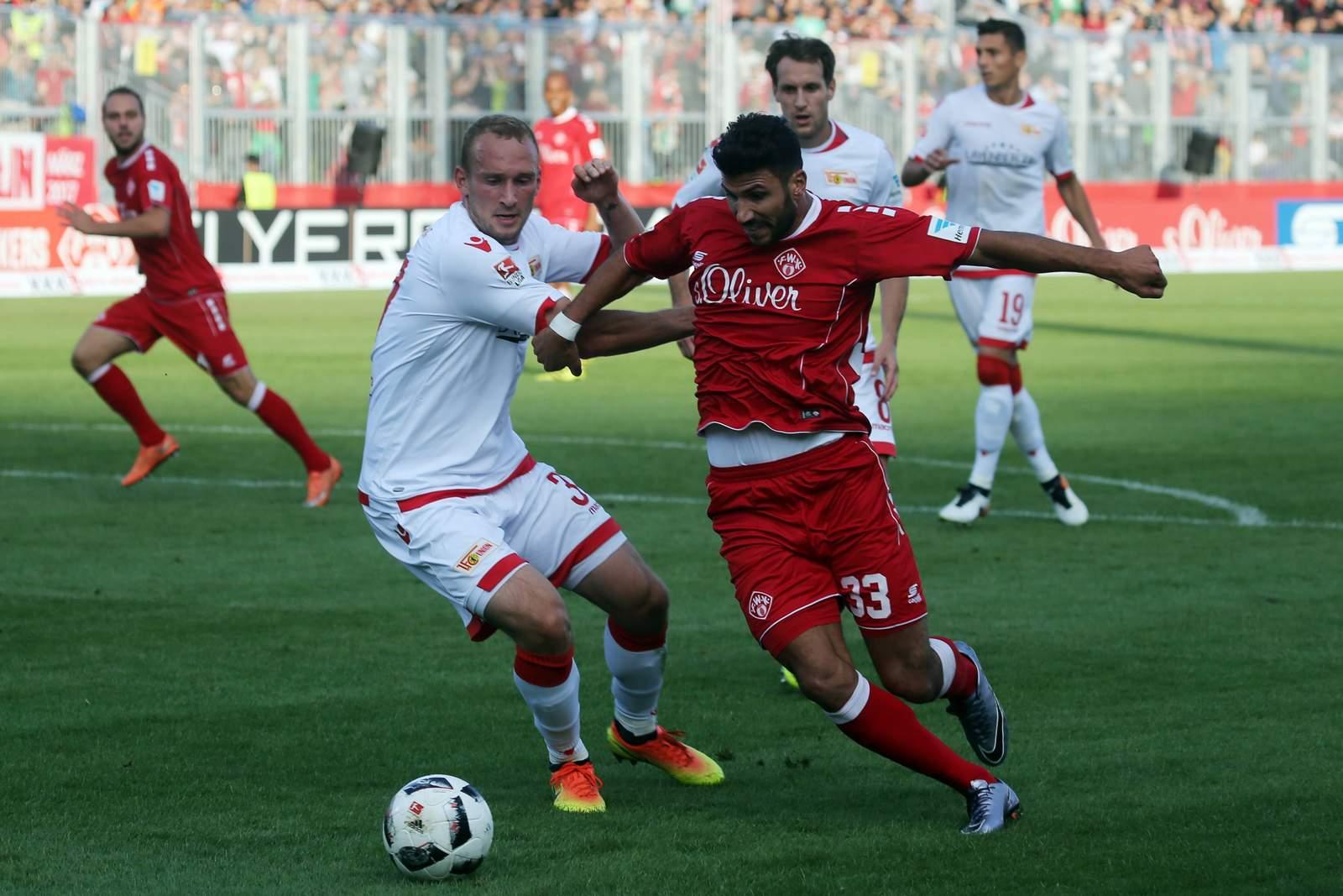 Kann Leistner wieder Soriano stoppen? Jetzt auf Union Berlin gegen Würzburger Kickers wetten
