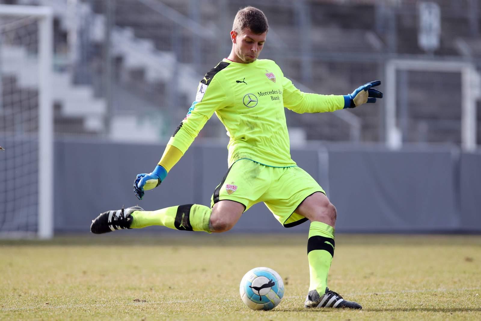 Benjamin Uphoff ist bislang Ersatzkeeper beim VfB gewesen.