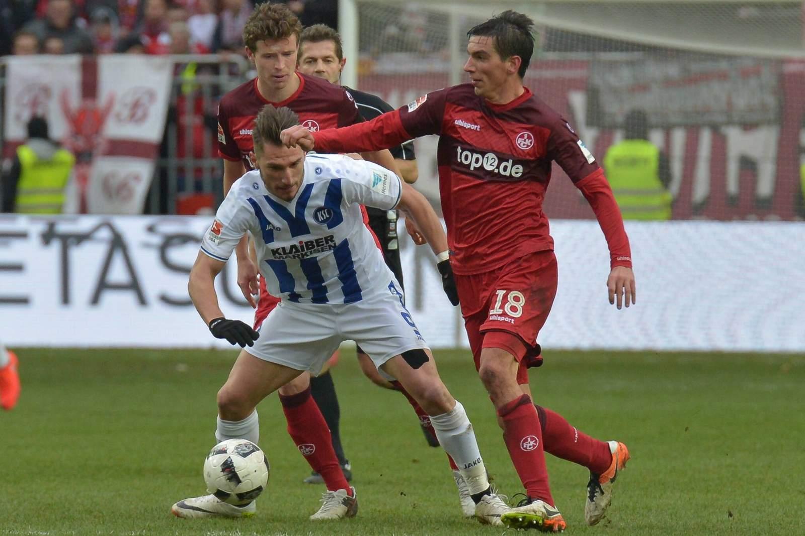 Setzt sich Diamantakos gegen Moritz durch? Jetzt auf KSC gegen Kaiserslautern wetten