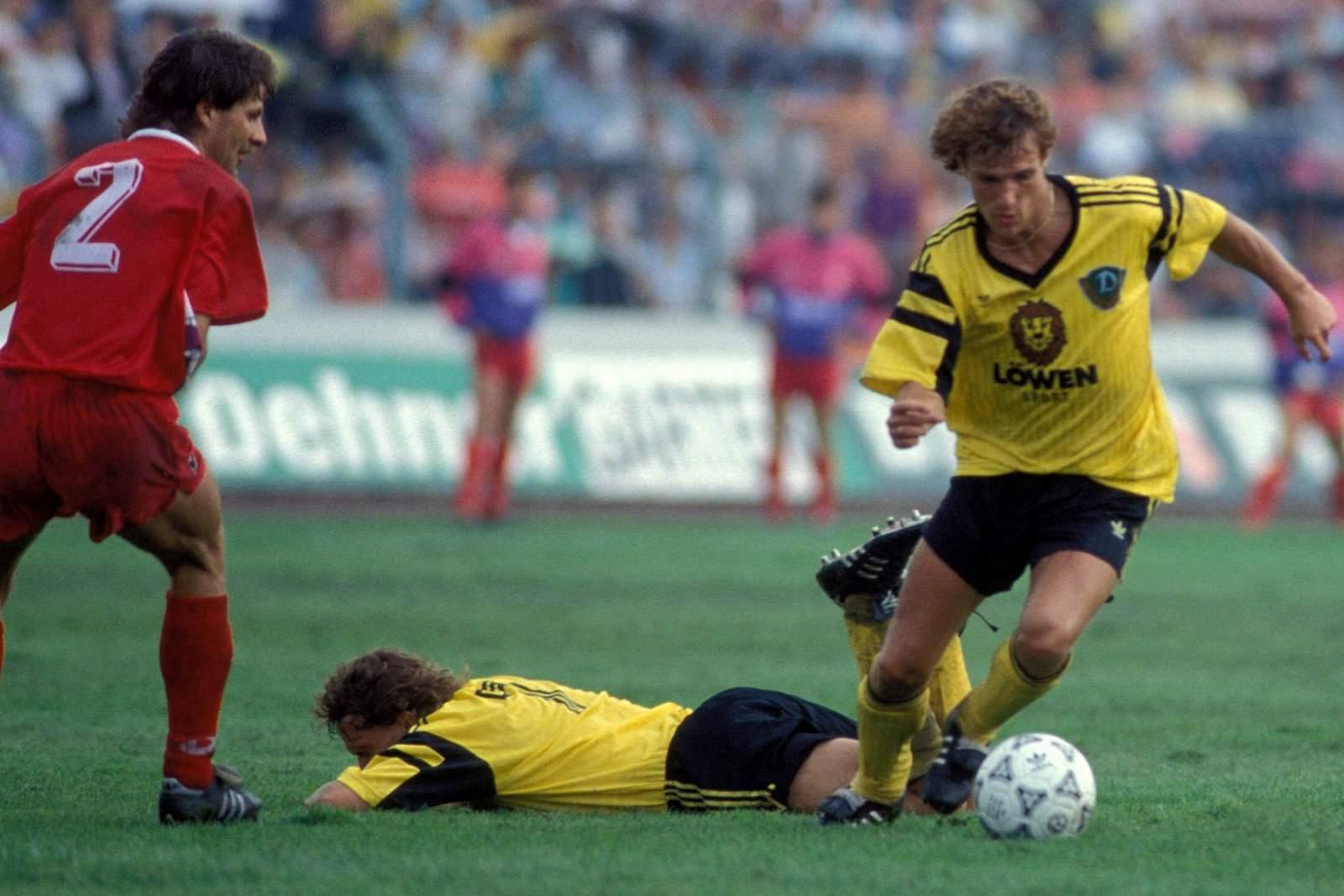 Torsten Gütschow im Trikot der SG Dynamo Dresden.