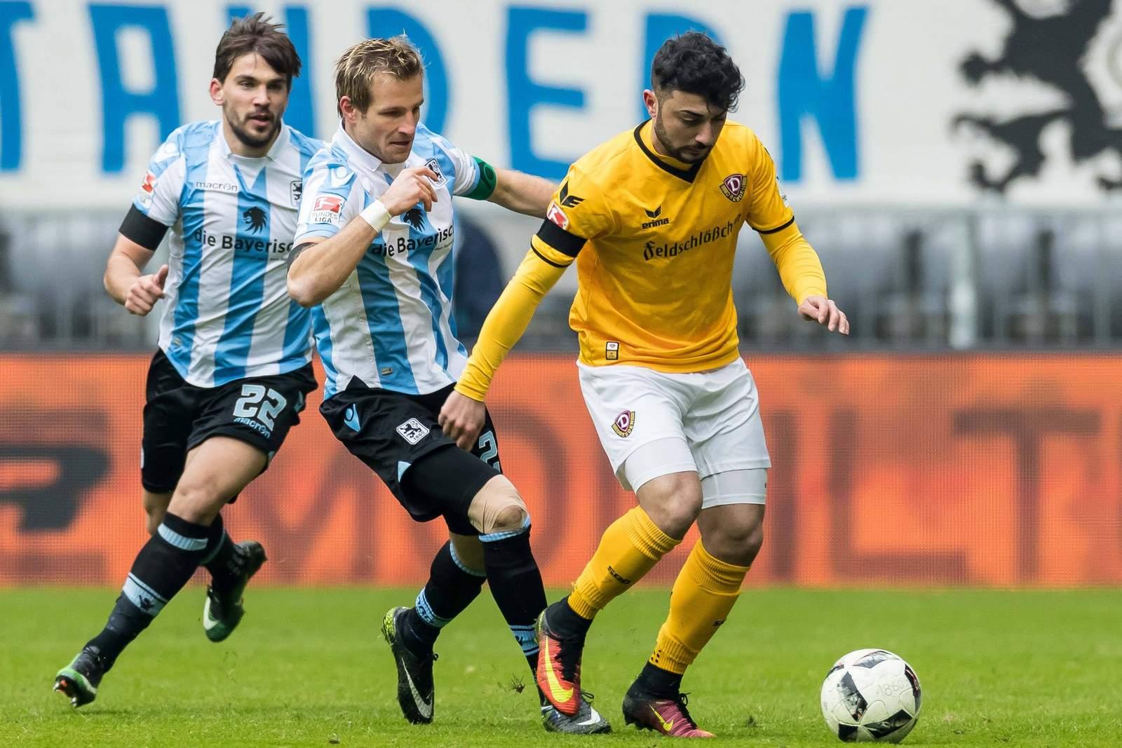 Setzt sich Aigner gegen Aosman durch? Jetzt auf Dynamo Dresden gegen 1860 München wetten