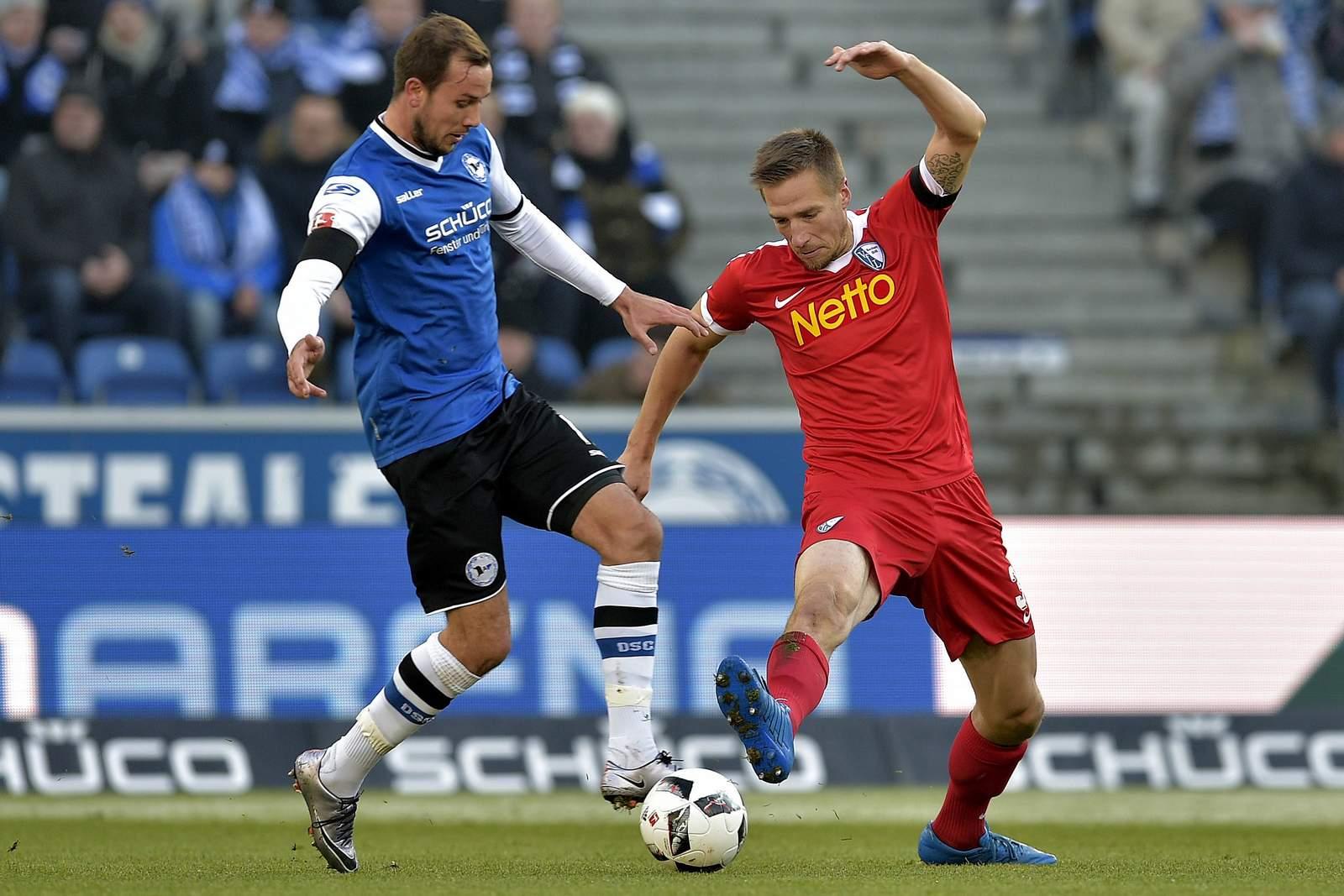 Setzt sich Stiepermann wieder gegen Prietl durch? Jetzt auf Bochum gegen Bielefeld wetten