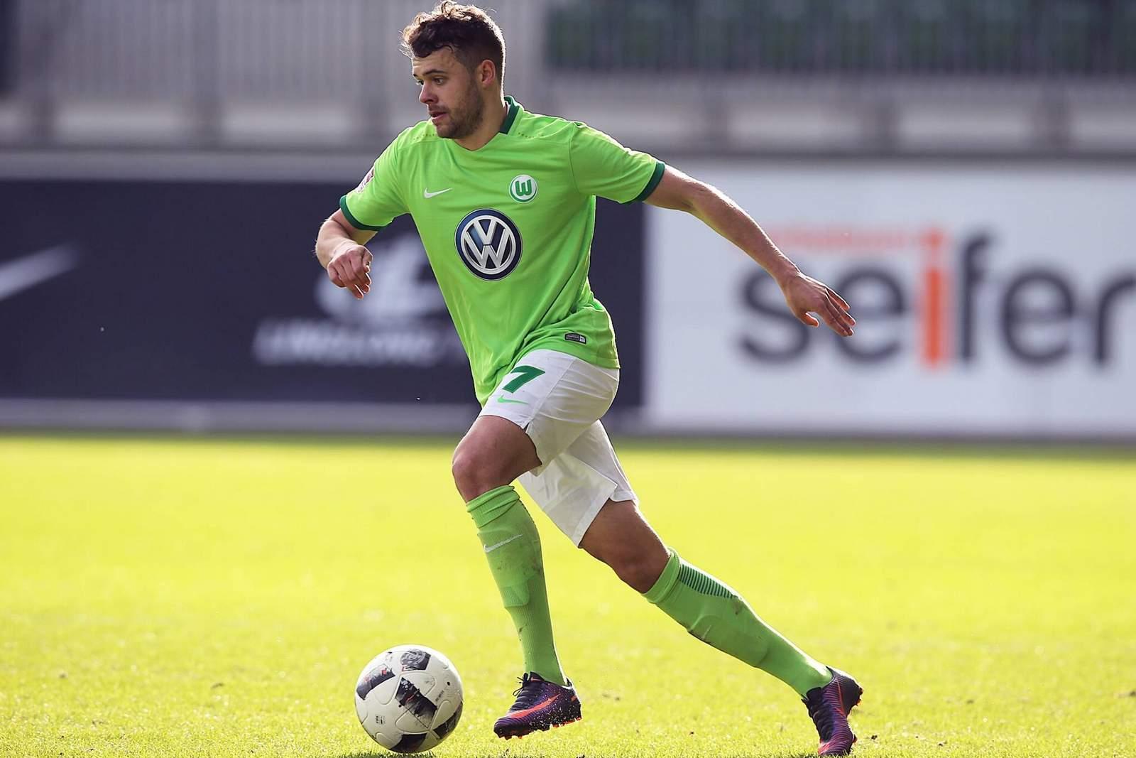 Robert Herrmann vom VfL Wolfsburg II