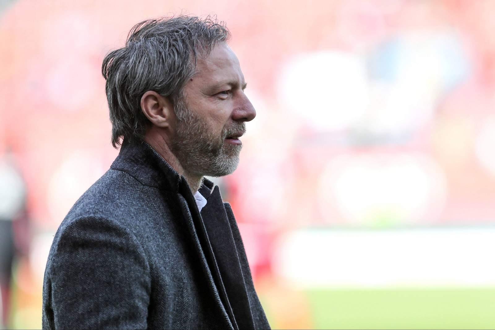 Thomas Linke vom FC Ingolstadt vor dem Spiel.