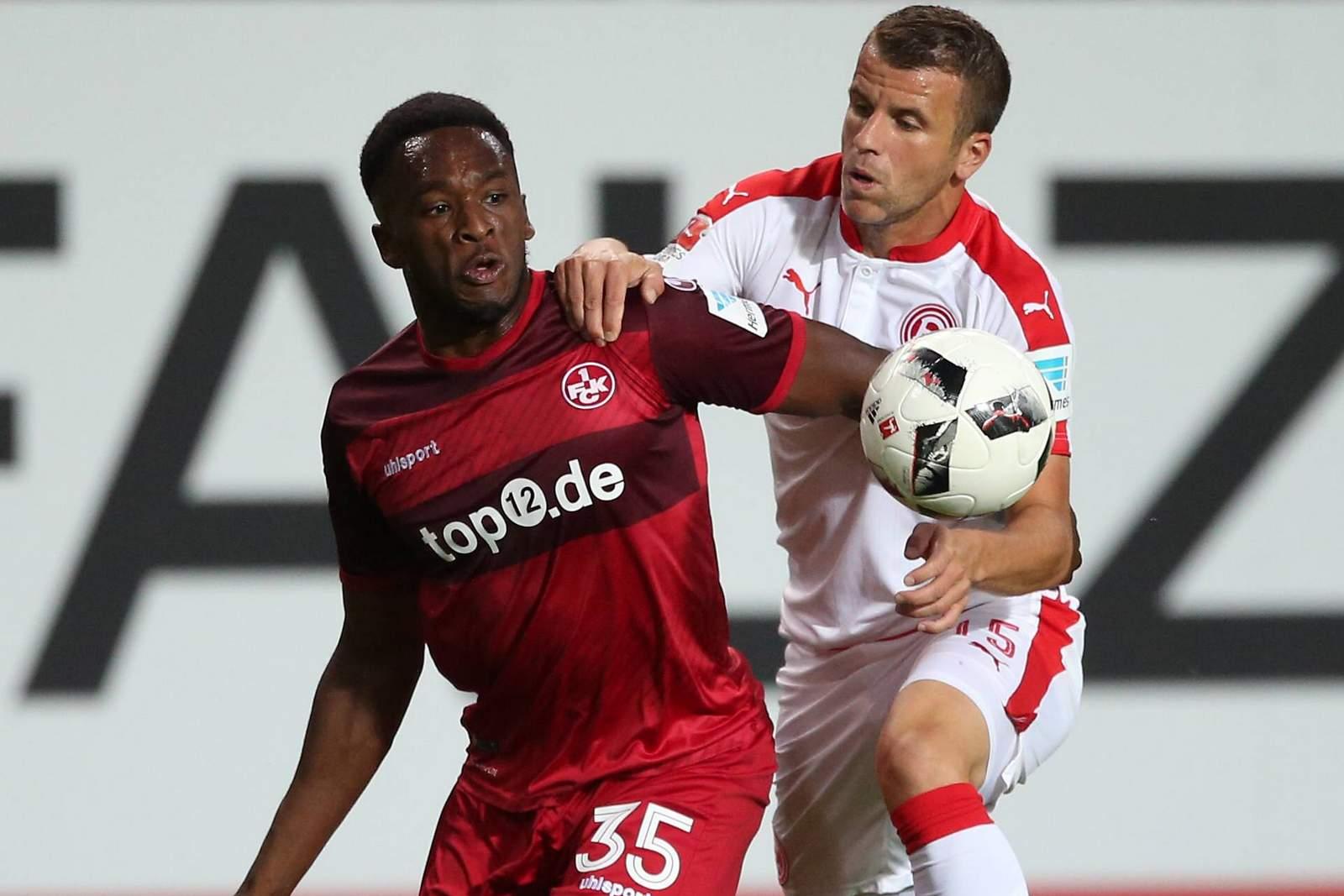 Setzt sich Osawe gegen Schmitz durch? Jetzt auf Düsseldorf gegen Kaiserslautern wetten