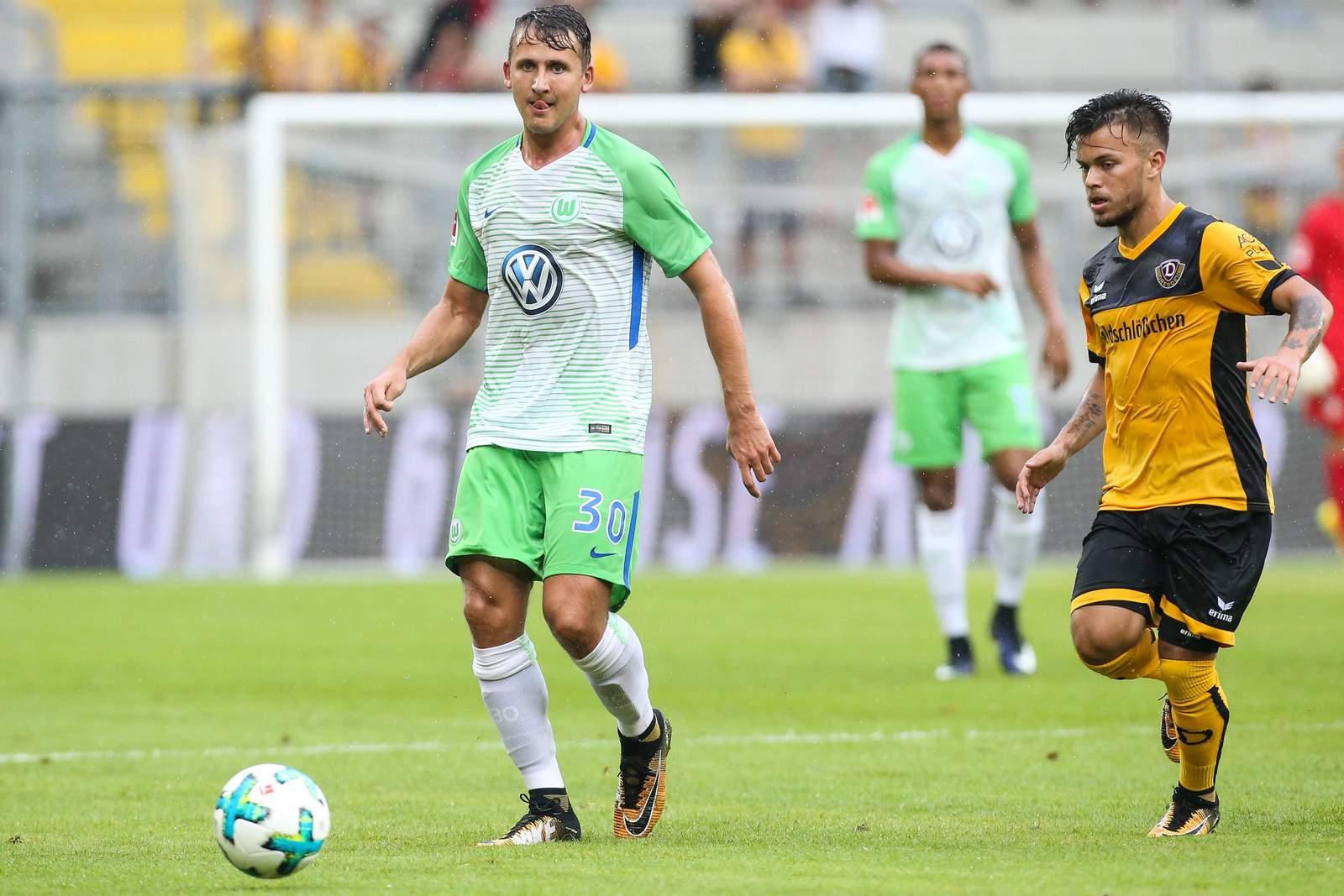 Paul Seguin, Profi beim VfL Wolfsburg