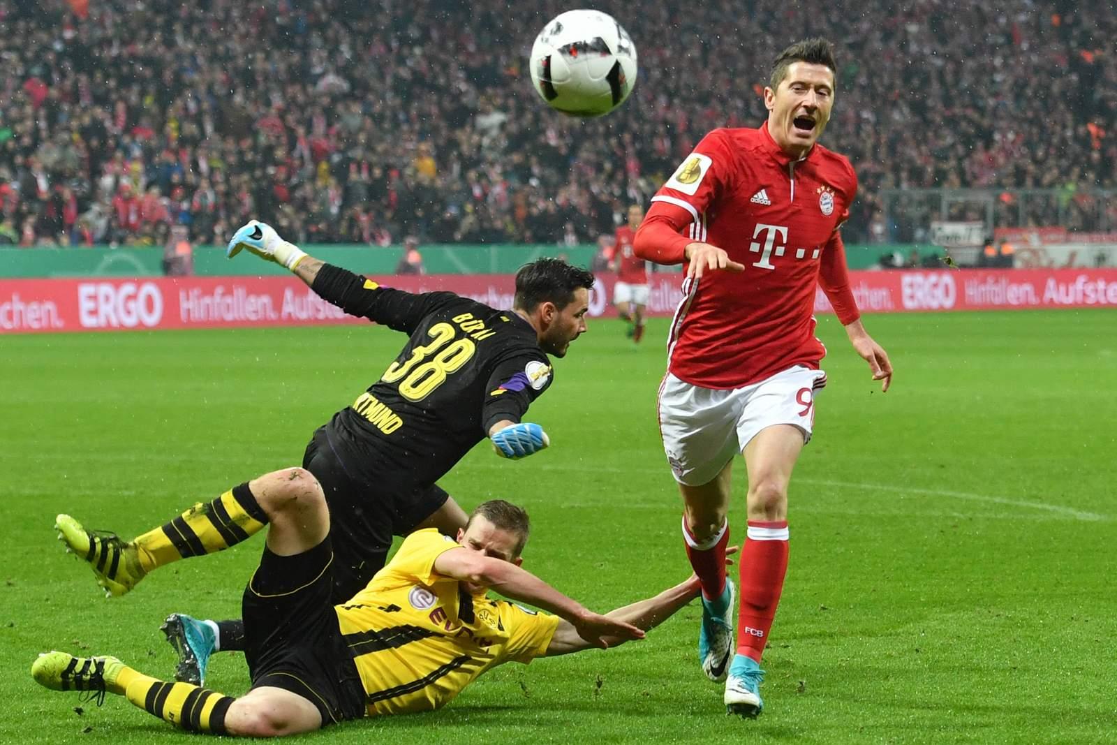 Trifft Lewandowski gegen Bürki? Jetzt auf BVB Dortmund gegen Bayern wetten